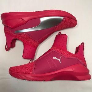 Puma Shoes - PUMA Fierce Culture Surf Hot Pink Training Shoes ff61e55c6